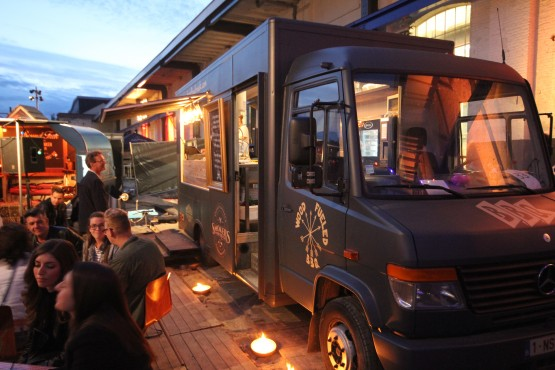 Smokers Food Truck Foto's