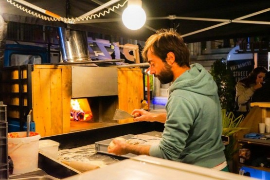 Pizza Foodtruck Foto's