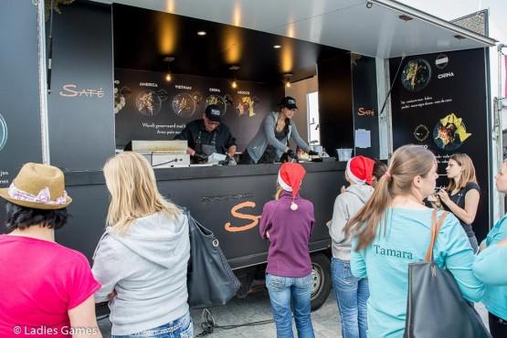 Food truck Saté Foto's