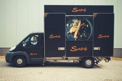 Food truck Saté