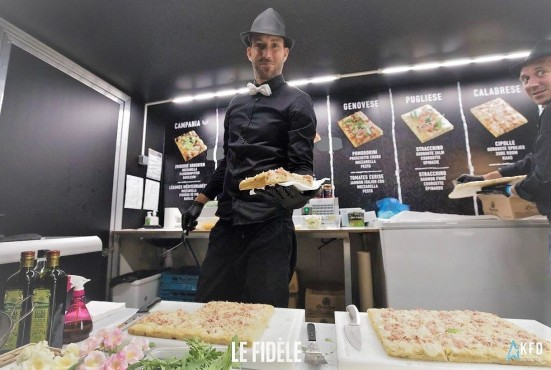 Food truck Focaccia Foto's
