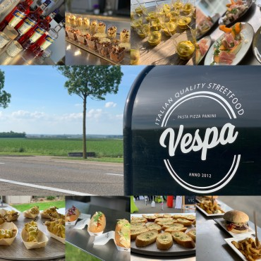 Vespa foodtrucks & events Foto's